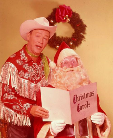 Roy Rogers at Christmas Time