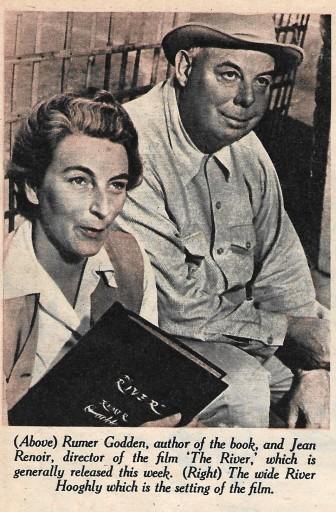 Rumer Godden and Jean Renoir