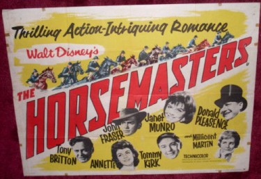 The Horsemasters 1961 Walt Disney