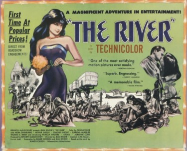 The River 1951 Advertisement