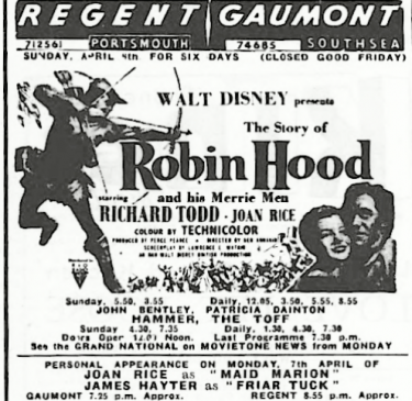 Film Programme in England