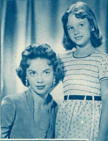 Matalie Wood and Her Sister Lana