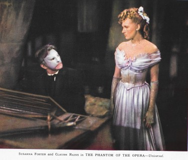 Claude Raines as he Phantom of the Opera
