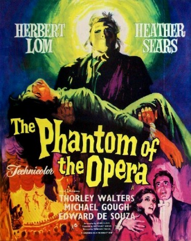 Herbert Lom as The Phantom of the Opera