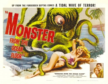 Monster from the Ocean Floor 1954