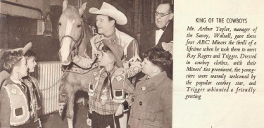 Roy Rogers In England