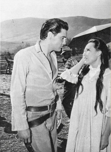 Elvis with Dolores Del Rio - Flaming Star