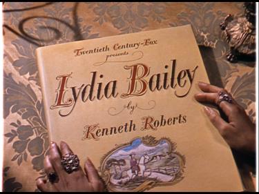 Lydia Bailey 5 1952