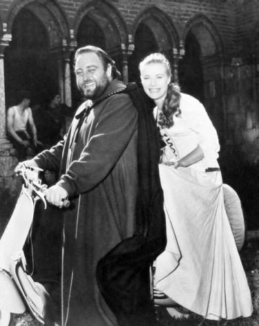 Susan Shentall and Sebastian Cabot