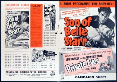 Son of Belle Starr 1953