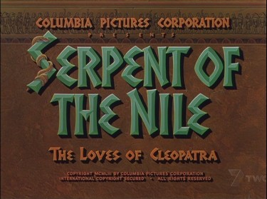 Serpent of the Nile 1953 2