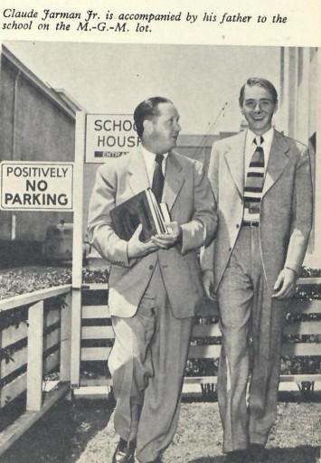 Claude Jarman with his Dad