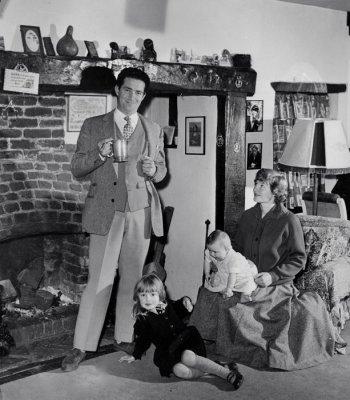 John Gregson at Home