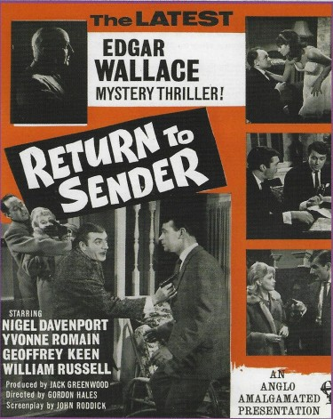 Return to Sender - Edgar Wallace