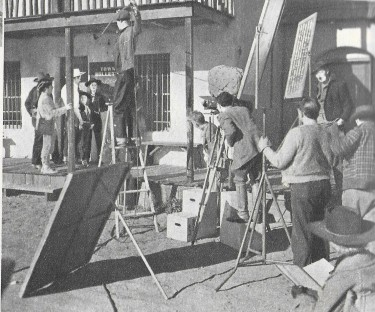 Arizona Roundup Filming 1951