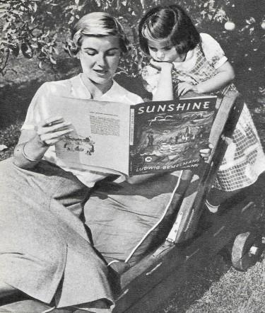 Barbara Bel Geddes with her Daughter Susan