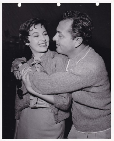 Cyd Charisse and her husband Tony Martin 2