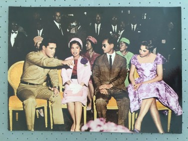 Elvis with The King and Queen of Thailand