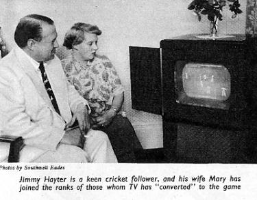 James Hayter at Home