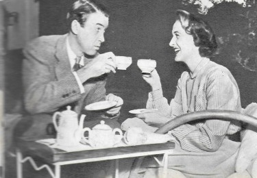 James Stewart anf His Wife