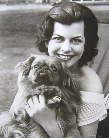 Joan Rice and her dog