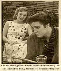 Joan Staley with Elvis