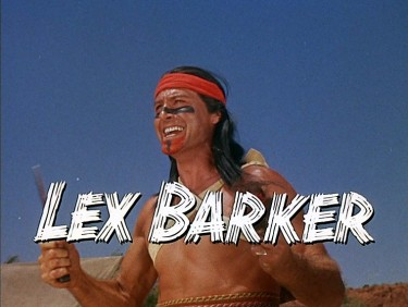 Lex Barker War Drums 1957