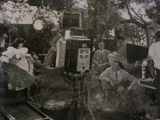 Maria Montez on set