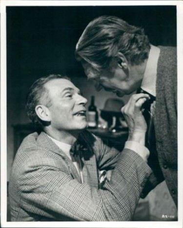 Roger Livesey and Laurence Olivier