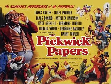 The Pickwick Papers 1952 Poster