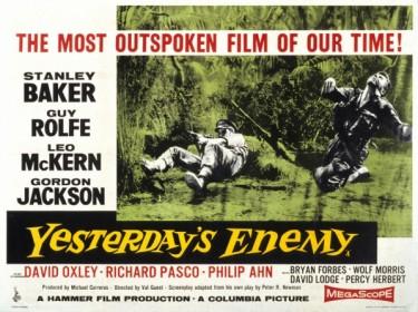 Yesterdays Enemy 1959 Poster