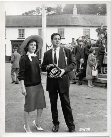 Yvonne Mitchell with Bernie Winters