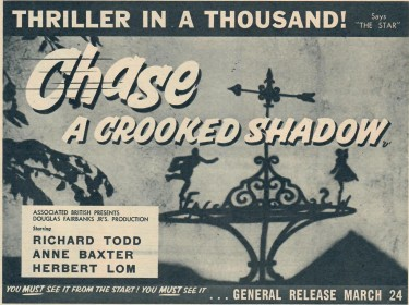 Chase a Crooked Shadow 1958