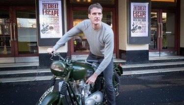 Dan Snow promoting The Great Escape