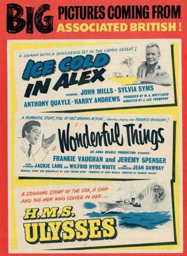 Film Release News 1958