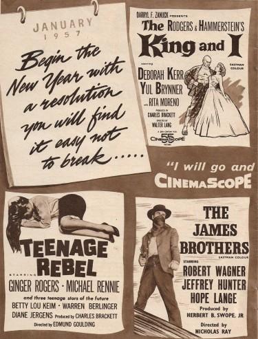 Films of 1957