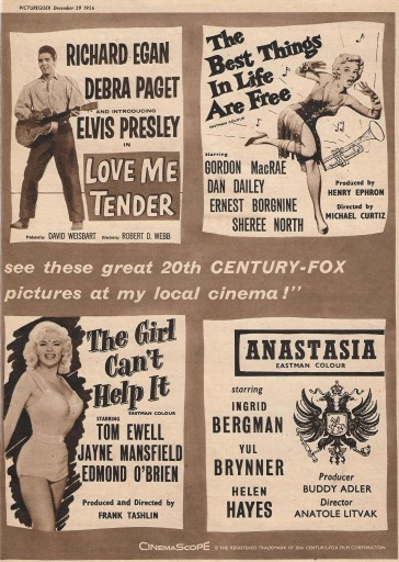 Films of 1957 A