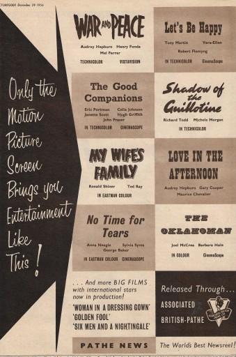 Films of 1957 C