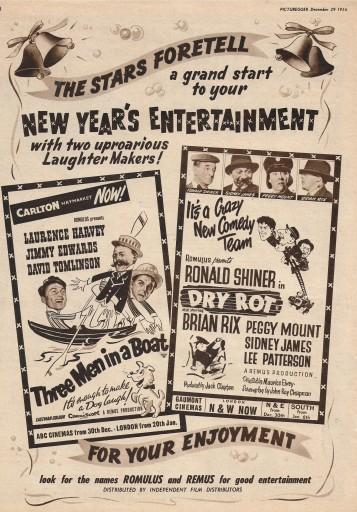 Films of 1957 D
