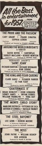Films of 1957 b