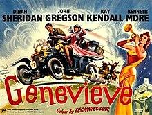 Genevieve 1953 film poster
