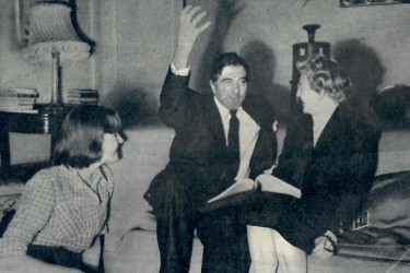 Robert Newton at Home