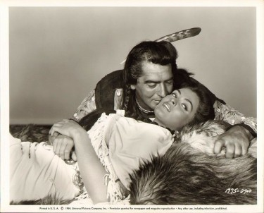 Suzan Ball with Victor Mature 2
