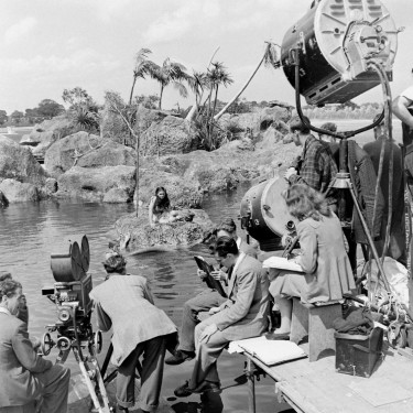 Filming The Blue Lagoon 1949