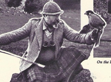 James Robertson Justice at Home in Scotland 2