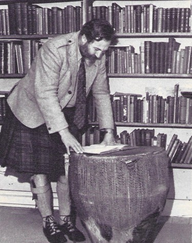 James Robertson Justice at Home in Scotland 3