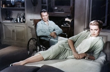 James Stewat with Grace Kelly
