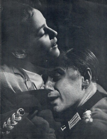 Marius Goring and Maria Schell in 'So Little Time'
