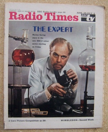 Marius Goring as The Expert 1968