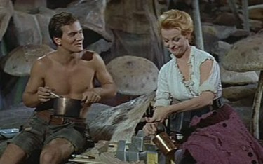 Pat Boone with Arlene Dahl